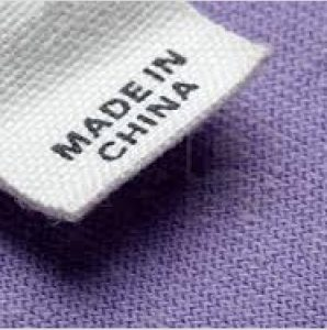 Etiqueta Made in China
